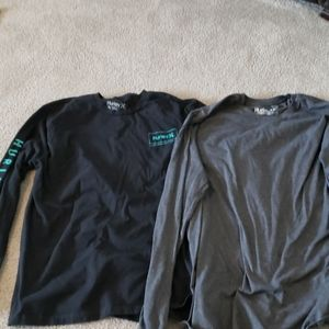 Men's Hurley's Long Sleeve Tops size XL